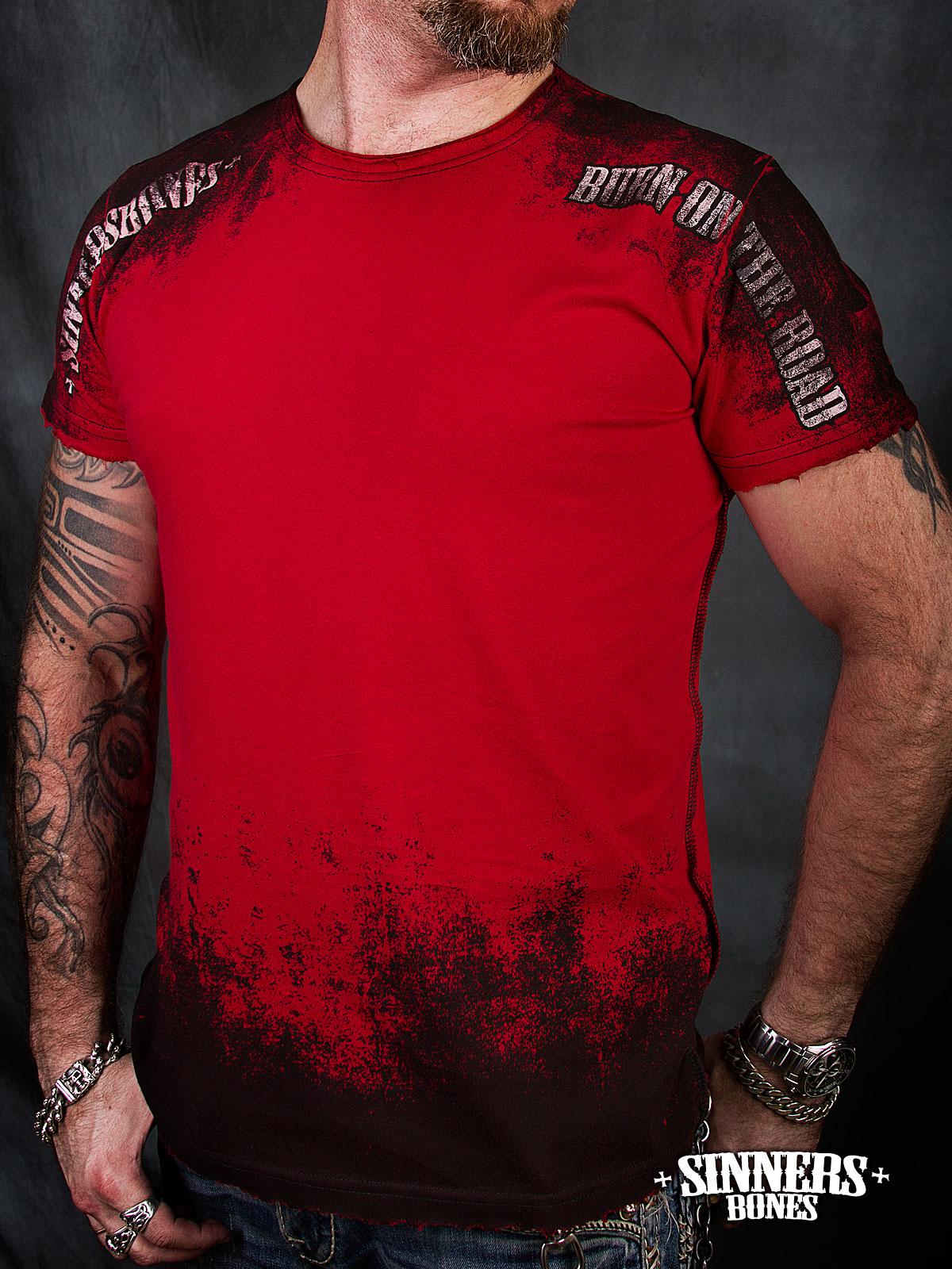футболки с знаком burn